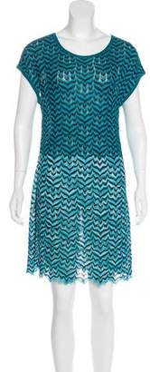 Missoni Rib Knit Printed Dress