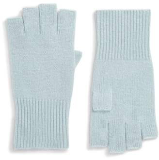 Halogen Cashmere Fingerless Gloves