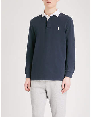 Polo Ralph Lauren Slim-fit cotton rugby top