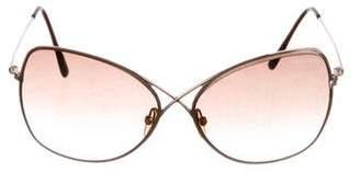 Tom Ford Colette Metal Sunglasses