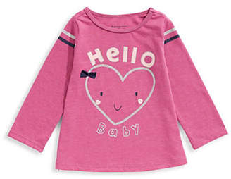 First Impressions Baby Girl's Graphic Cotton Tee