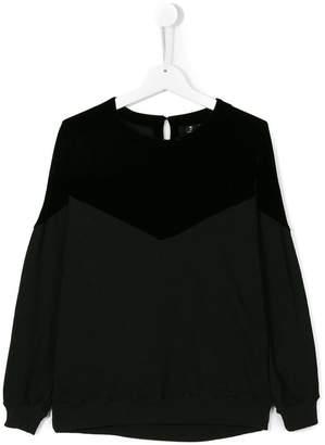 European Culture Kids Teen split colour sweatshirt