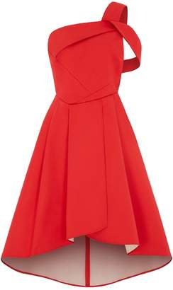 Outline - The Red Rosehill Dress