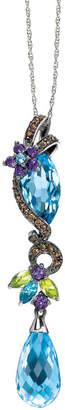 LeVian Le Vian 14K 8.54 Ct. Tw. Diamond & Gemstone Necklace