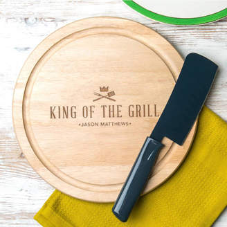 Dust and Things Personalised 'King Of The Grill' Serving Board