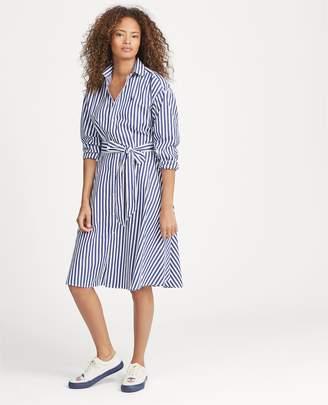 Ralph Lauren Cotton Broadcloth Shirtdress