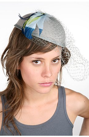 Feather Cocktail Hat