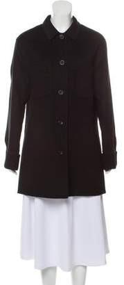 Naked Cashmere Wool Pointed Collar Jacket