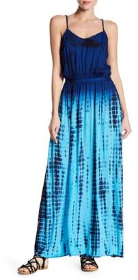 BOHO ME Tassel Trim Maxi Dress