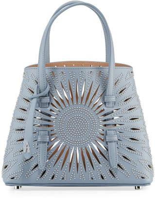 Alaia Mina Min Cuir Lux Tote Bag