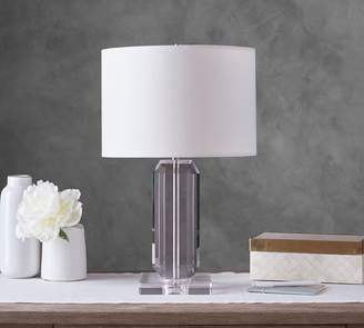 Pottery Barn Brooklyn Faceted-Crystal Bedside Lamp