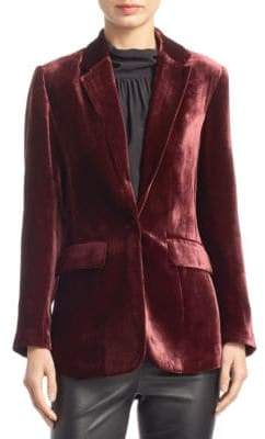 Saks Fifth Avenue COLLECTION Velvet Blazer