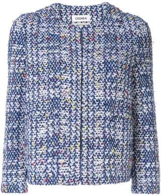 Coohem autumn check tweed jacket