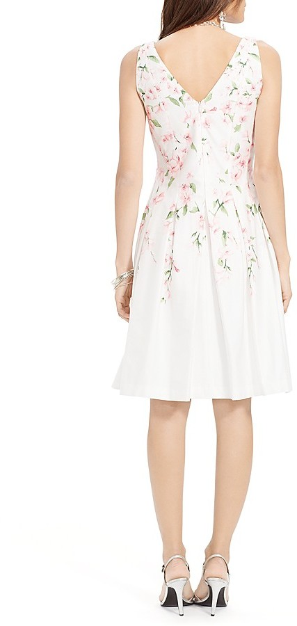 Lauren Ralph Lauren Dress - Sleeveless Floral Print 3