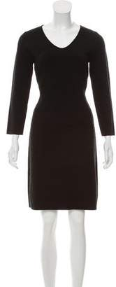 Armani Collezioni Knit Knee-Length Dress
