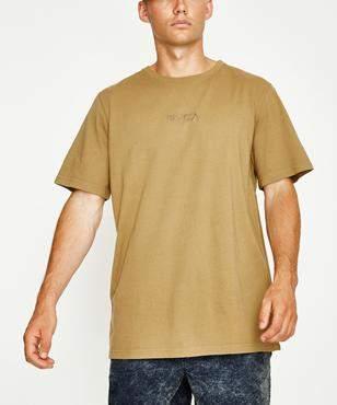 RVCA Tonally T-shirt Mustard Pigment