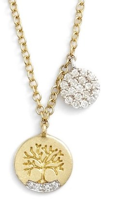 Women's Meirat 'Tree Of Life' Diamond Pendant Necklace $495 thestylecure.com