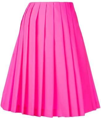 Prada pleated loose skirt