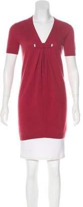 Tsesay Short Sleeve Cashmere Top