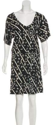 Balenciaga Printed T-Shirt Dress