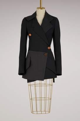 Proenza Schouler Wool wrap blazer