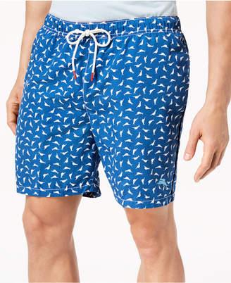 "Tommy Bahama Men's Marlin-Print 6"" Swim Trunks"