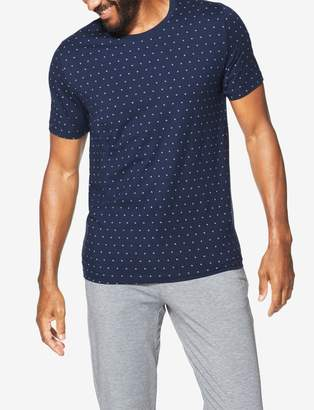 Tommy John Tommyjohn Second Skin Crescent Print Crew Neck Tee