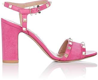 Valentino Women's Rockstud Suede & Leather Sandals