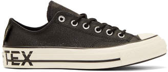 Converse Black Gore-Tex Leather Chuck 70 Low Sneakers