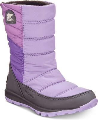Sorel Kid Whitney Waterproof Boots Women Shoes