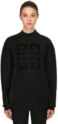 Givenchy (ジバンシイ) - GIVENCHY ウール混ニットセーター