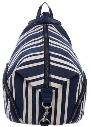 Rebecca Minkoff Julian Striped Backpack