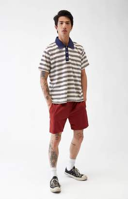 Brixton Steady Burgundy Shorts