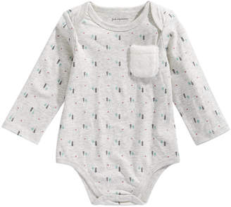 First Impressions Baby Boys Tree-Print Bodysuit, Created for Macy's
