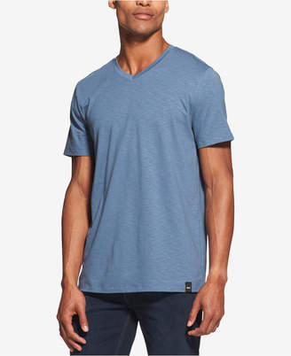 DKNY Men's Mercerized V-Neck T-Shirt