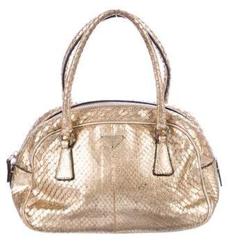 Prada Mini Pitone Handle Bag