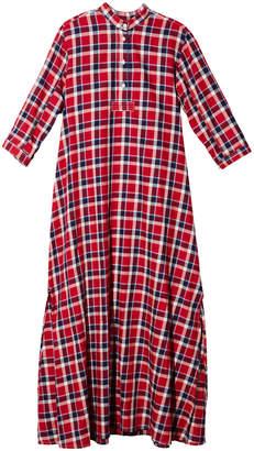 The Sleep Shirt Full-Length Cotton Sleep Shirt