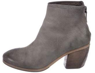 Marsèll Distressed Suede Ankle Boots