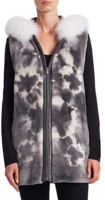 The Fur Salon Sheared Fur Vest