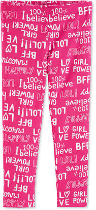 Carter's Baby Girls Bff-Print Leggings