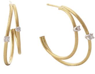 Marco Bicego Luce 18K Two-Tone 0.16 Ct. Tw. Diamond Earrings