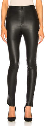 Zeynep Arcay High Waisted Skinny Leather Pants