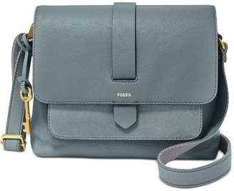 Fossil Kinley Leather & Suede Small Crossbody