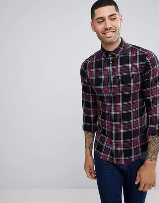 Wrangler Pocket Button Down Check Shirt