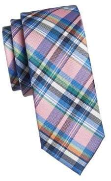 Tommy Hilfiger Plaid Slim Tie