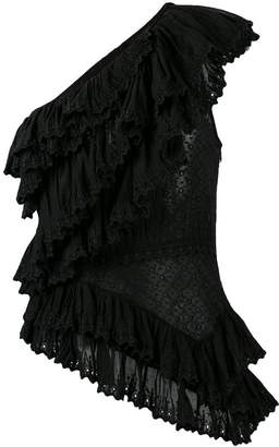 Isabel Marant broderie anglaise top