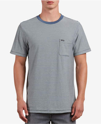 Volcom Men's Preston Striped Pocket T-Shirt