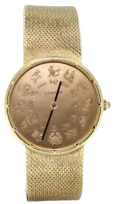 Corum Zodiac 18k Solid Yellow Gold 114gr Watch