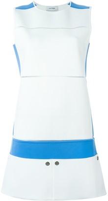 Courreges colour block mini dress