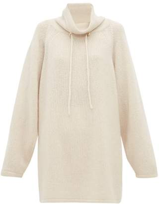 The Row Myrnia Cashmere Blend Sweater - Womens - Ivory
